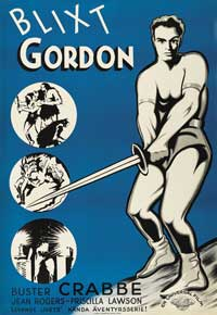 Flash Gordon - 27 x 40 Movie Poster - Style E