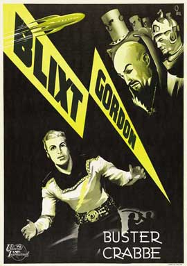 Flash Gordon - 11 x 17 Movie Poster - Swedish Style A