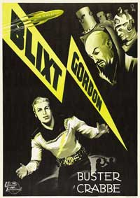 Flash Gordon - 30 x 40 Movie Poster - Sweden Style A