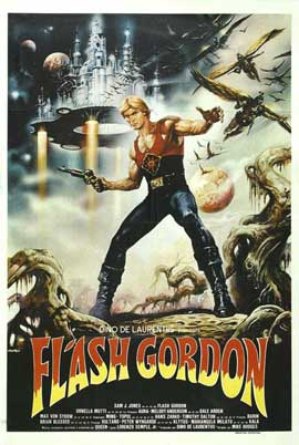 Flash Gordon - 11 x 17 Movie Poster - Spanish Style A