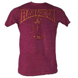 Flash Gordon - Flash Bust Red Heather T-Shirt