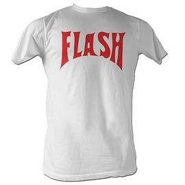 Flash Gordon - Flash Front Only White T-Shirt