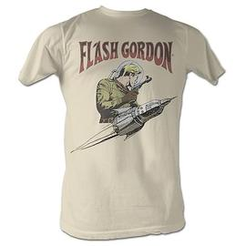 Flash Gordon - Flash Rocket White T-Shirt