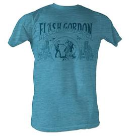 Flash Gordon - Duel Turquoise T-Shirt