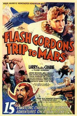 Flash Gordon's Trip to Mars - 11 x 17 Movie Poster - Style B