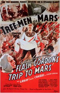 Flash Gordon's Trip to Mars - 11 x 17 Movie Poster - Style C