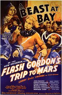 Flash Gordon's Trip to Mars - 11 x 17 Movie Poster - Style D