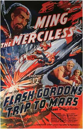 Flash Gordon's Trip to Mars - 11 x 17 Movie Poster - Style E