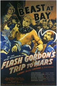 Flash Gordon's Trip to Mars - 11 x 17 Movie Poster - Style F