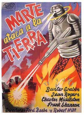 Flash Gordon's Trip to Mars - 11 x 17 Movie Poster - Spanish Style A