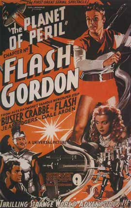 Flash Gordon's Trip to Mars - 11 x 17 Movie Poster - Style I