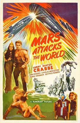 Flash Gordon's Trip to Mars - 11 x 17 Movie Poster - Style J