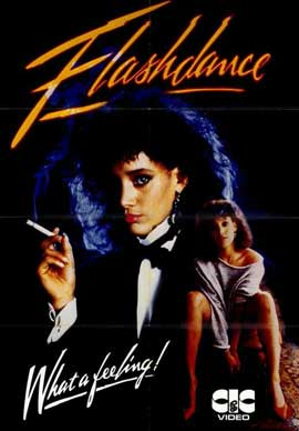 Flashdance - 11 x 17 Movie Poster - German Style A