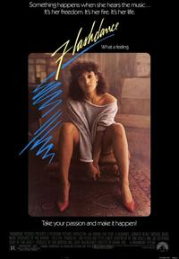 Flashdance - 43 x 62 Movie Poster - Bus Shelter Style A