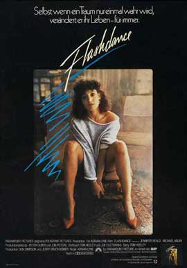 Flashdance - 11 x 17 Movie Poster - German Style B