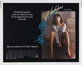Flashdance - 22 x 28 Movie Poster - Half Sheet Style A
