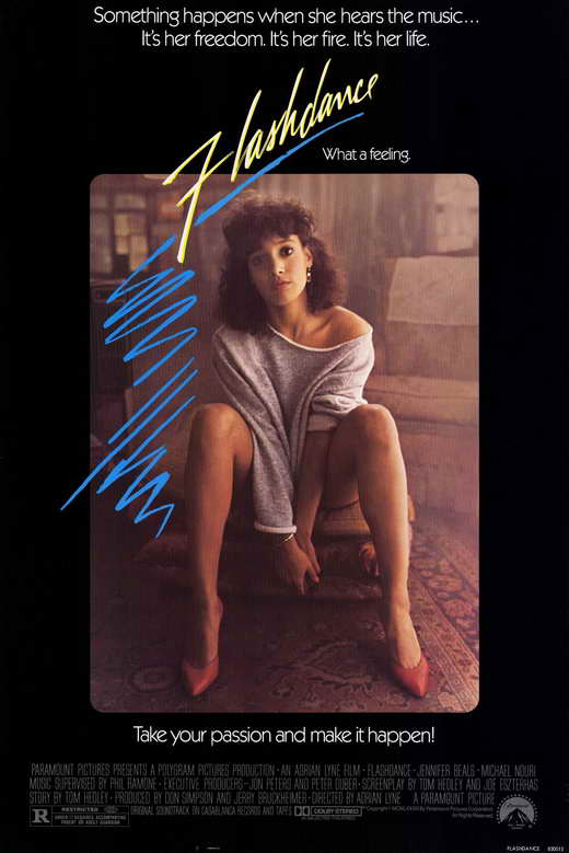 Flashdance Movie Posters From Movie Poster Shop