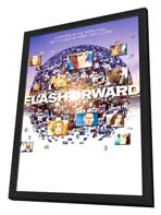 FlashForward (TV) - 27 x 40 TV Poster - Style A - in Deluxe Wood Frame