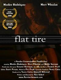 Flat Tire - 43 x 62 Movie Poster - Bus Shelter Style A