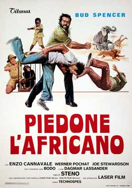 Flatfoot in Africa - 27 x 40 Movie Poster - Italian Style A