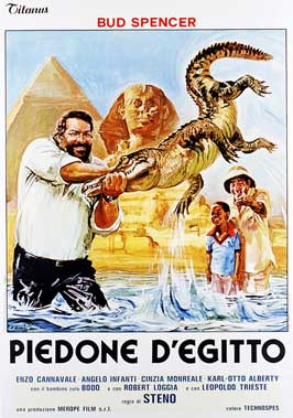 Flatfoot on the Nile - 27 x 40 Movie Poster - Italian Style A