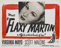 Flaxy Martin - 11 x 17 Movie Poster - Style B