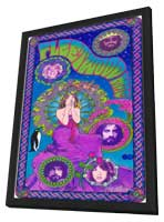 Fleetwood Mac - 11 x 17 Music Poster - Style A - in Deluxe Wood Frame