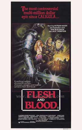 Flesh and Blood - 11 x 17 Movie Poster - Style B