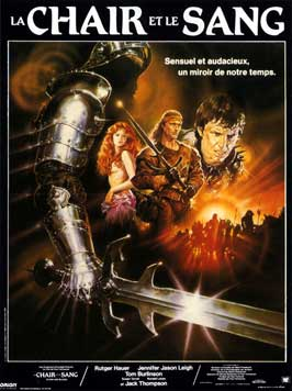 Flesh and Blood - 11 x 17 Movie Poster - French Style A