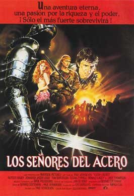 Flesh and Blood - 11 x 17 Movie Poster - Spanish Style A