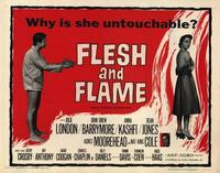 Flesh and Flame - 22 x 28 Movie Poster - Half Sheet Style A