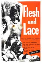Flesh and Lace - 11 x 17 Movie Poster - Style B