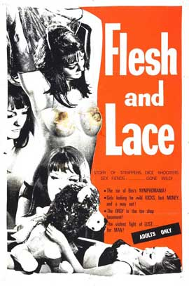 Flesh and Lace - 27 x 40 Movie Poster - Style B