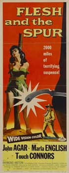 Flesh and the Spur - 14 x 36 Movie Poster - Insert Style A