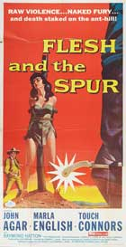 Flesh and the Spur - 20 x 40 Movie Poster - Style A