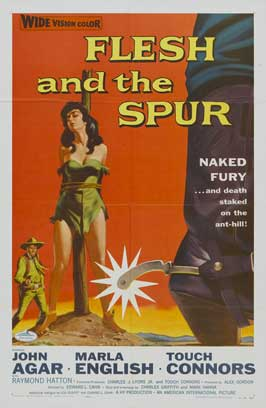 Flesh and the Spur - 27 x 40 Movie Poster - Style A