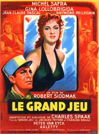 Flesh And The Woman - 11 x 17 Movie Poster - French Style A