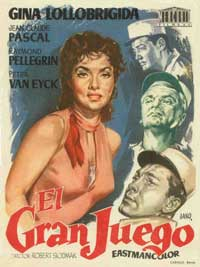 Flesh And The Woman - 11 x 17 Movie Poster - Spanish Style A