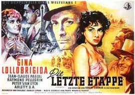 Flesh And The Woman - 11 x 17 Movie Poster - German Style A