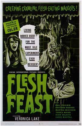 Flesh Feast - 11 x 17 Movie Poster - Style A