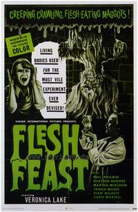 Flesh Feast - 43 x 62 Movie Poster - Bus Shelter Style A