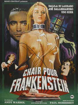 Flesh for Frankenstein - 27 x 40 Movie Poster - French Style B