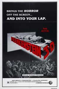 Flesh for Frankenstein - 11 x 17 Movie Poster - Style B