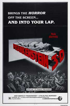Flesh for Frankenstein - 27 x 40 Movie Poster - Style B