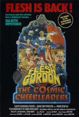 Flesh Gordon Meets the Cosmic Cheerleaders - 11 x 17 Movie Poster - Style A