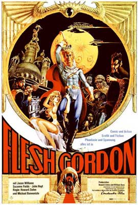 Flesh Gordon - 11 x 17 Movie Poster - German Style A