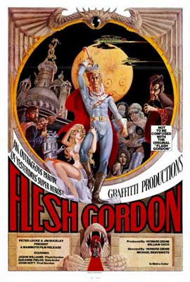 Flesh Gordon - 27 x 40 Movie Poster - Style A