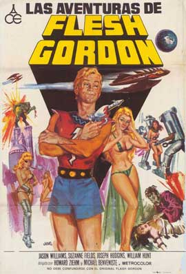 Flesh Gordon - 27 x 40 Movie Poster - Spanish Style A