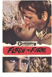 Flesh in Fire - 11 x 17 Movie Poster - Style A