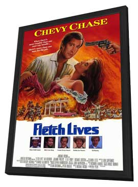 Fletch Lives - 11 x 17 Movie Poster - Style A - in Deluxe Wood Frame